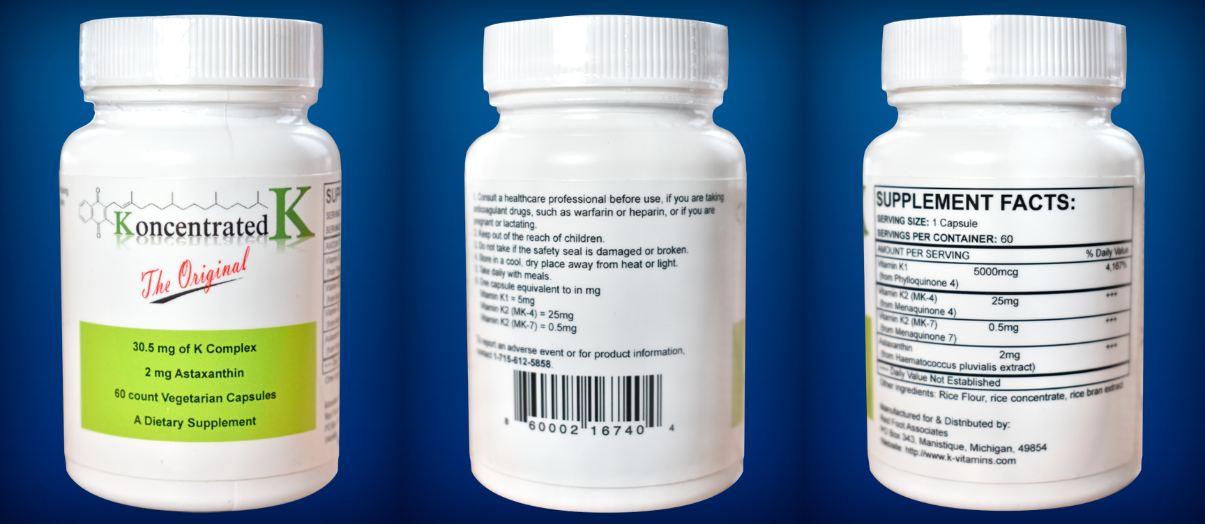 Buy Vitamin K - Koncentrated K Online Now
